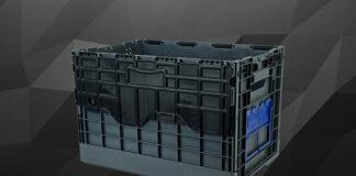 Składane pojemniki do przedsiębiorstwa
